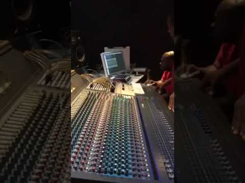 wayne Lonesome & Fatta Mixing the 4 new tunes  with merciless  Buckley Jr cat & W Lonesome
