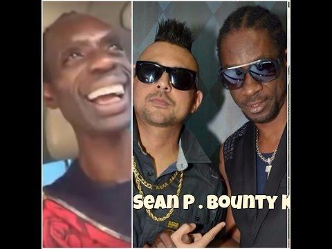 Ninja Man laughs at Bounty Killa , Sean Paul and Buju Banton Link up and joke around
