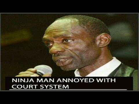 Ninja Man MURDER TRIAL DELAYED due to a LACK of COURTROOM & JUDGE. Ninja & His LAWYER are NOT AMUSED