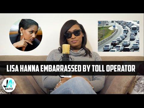 Lisa Hanna EMBARRASSED By Toll Operator | Vybz Kartel Fans Calls it Karma