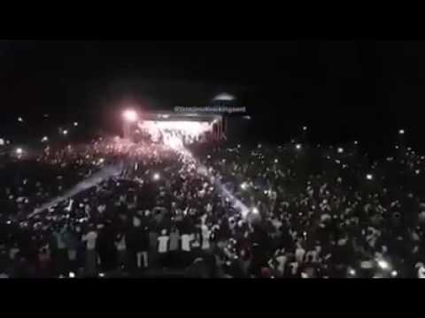 Mavado Pulls 50,000 plus people Largest crowd in Gambia see for yourself May 15 2017