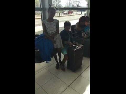 """Ninja Man At The """"AIRPORT"""" With The Little Girl With """"CANCER"""""""