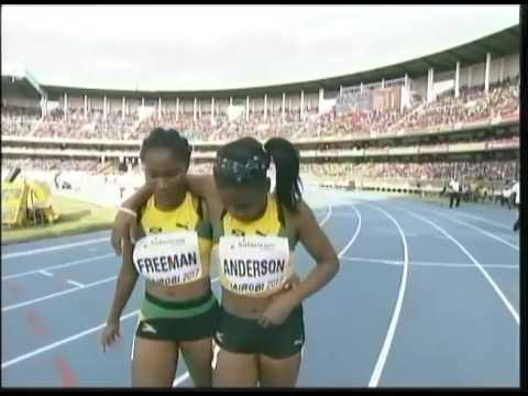Britany Anderson Scores Gold For Jamaica - TVJ Prime Time Sports - July 16 2017