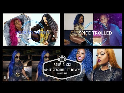 Spice vs Dovey Magnum INSTAGRAM FEUD. USTV Personality TROLLS SPICE then receives DEATH THREATS