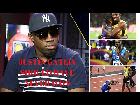 FOOTA HYPE DISS JUSTIN GATLIN & SAY HIM INSULT USAIN BOLT BY BETTING 100 US$ HIM COME OUT RETIREMENT