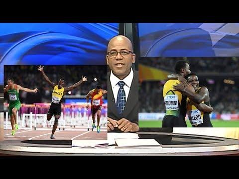 Jamaica Sport ( Aug-8-2017)-First Gold Medal To Teammates- Jamaica News