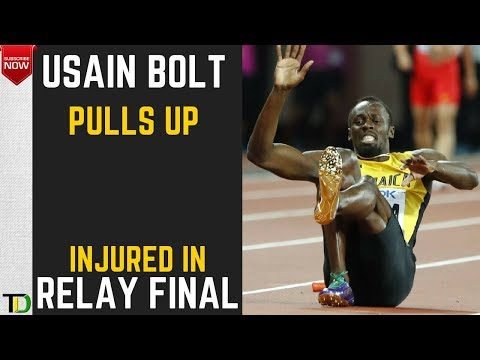 Usain Bolt INJURED in Final  Relay Race NIGHTMARE at London World Championships