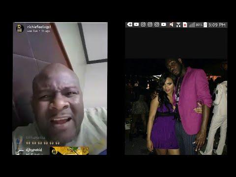 Richie Feelings say Ishawna Farted & Poop in Skatta Burrell Face