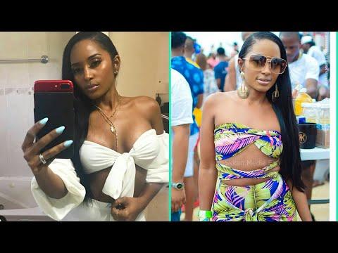 Aidonia's Wife Kimberly Megan Breaks Internet With Boob Job