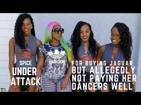 Spice Under ATTACK for buying $50,000-63,000 USD, JAGUAR JEEP but allegedly not PAYING Dancers WELL