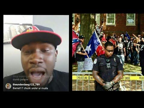 Foota Hype Says Black Police Officer Is  Coward Weak Rat For Defending White People
