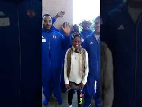 Little girl ninja man send to the US for cancer treatment DOING WELL