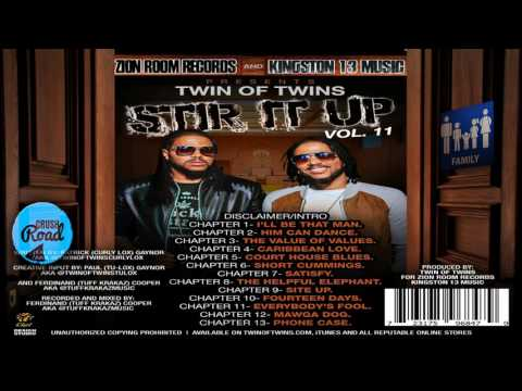 Twins Of Twins - Stir It Up Vol.11 Family (Alkaline Vybz Kartel & Many More) June 2017