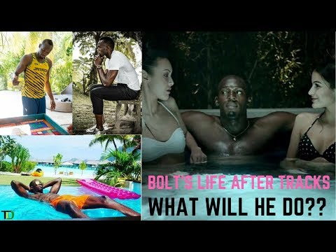WHAT will USAIN BOLT do after ATHLETICS only HE knows! But He has the MONEY to do ANYTHING he WANTS!