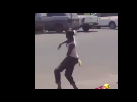 Madman in HWT Jamaica Heard Ding Dong Wul dem deh and look what happens
