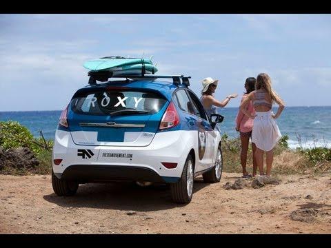 ROXY Hawaii: Join Kelia's Ride with FORD FIESTA episode 1