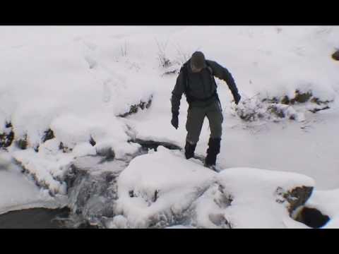 Trekking in the Snow