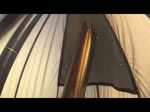 seekoutside 6 man tipi with wood stove