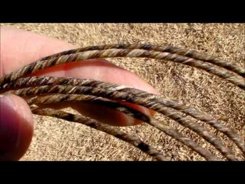 Part 2 Making a Primitive Bowstring from Elk Gut