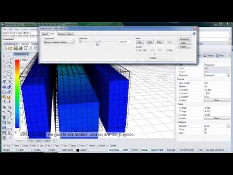 Resolution Grid Display in Scan&Solve™ for Rhino