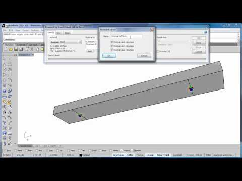 Edge Restraints in Version 1.4 of Scan&Solve™ for Rhino