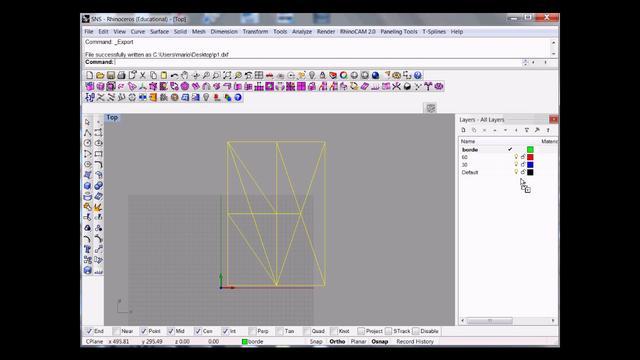 rhino+rigid origami simulator +scan and solve