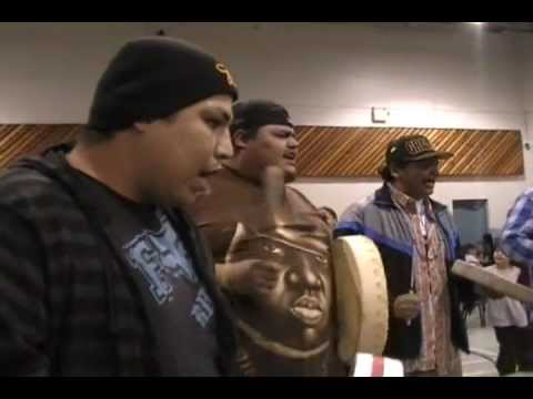 "Native Singer Leroy Brown - Drum Song ""Did you see that girl?"""
