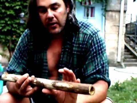 How to Make a Native American Flute from Sumac