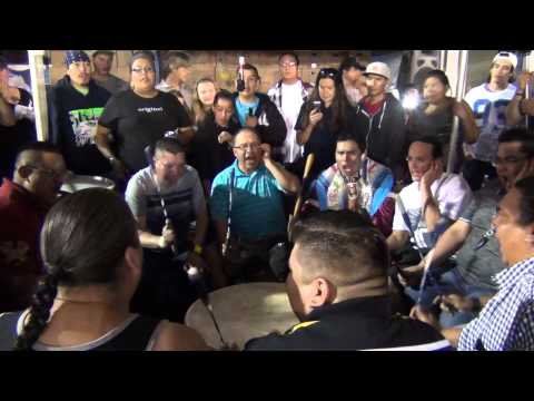 Northern Cree @ Julyamsh PowWow 2014 HONOR SONG