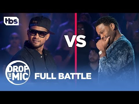 Drop the Mic: Anthony Anderson vs Usher - FULL BATTLE | TBS