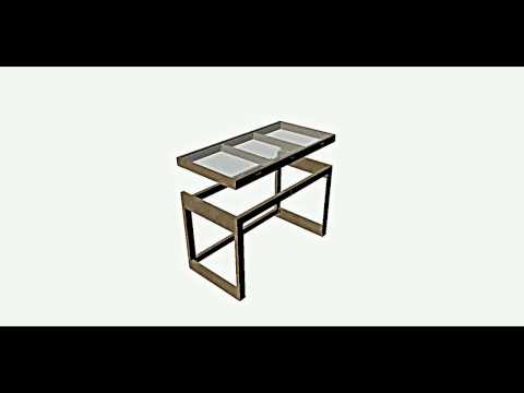 Drafting Table Assembly Animation
