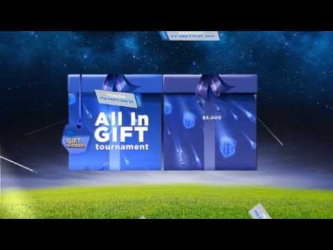 Gift Showers - 888poker's NO-LIMIT Giveaway