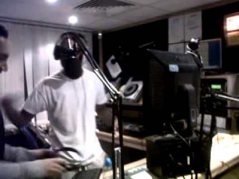 Karim Mayfield @ The Bang Radio Studio London - Racket Bounce Final