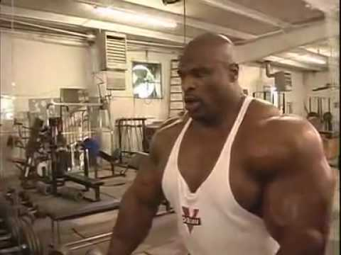 Ronnie Coleman Biceps Workout