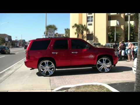 ITSDOUG - 28 INCH RIMS ON THE CHEVY TAHOE