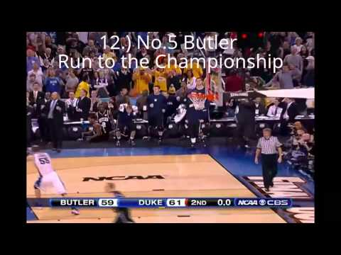 Top 25 NCAA Tournament Upsets of All-Time