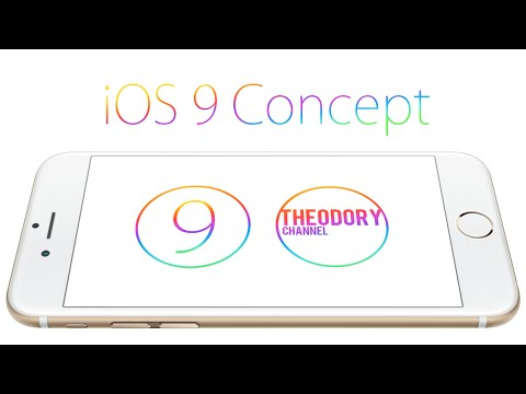 iOS 9 Concept by Ralph Theodory 1
