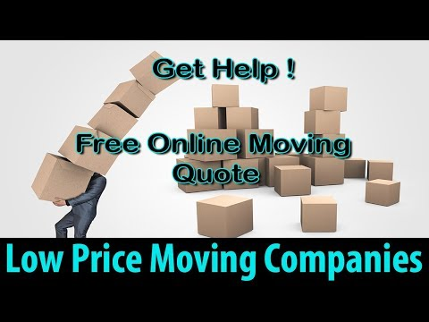 Low Price Moving Companies | Get 7 FREE Moving Quotes & Save Up To 35%