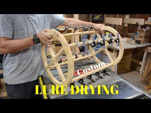 Fishing Lure Drying Rack