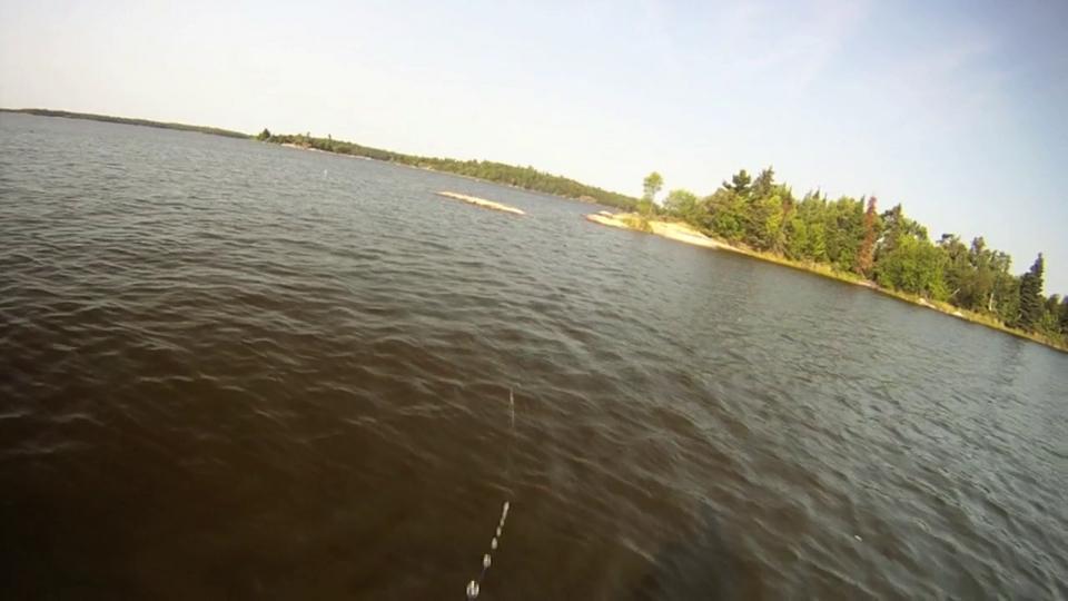 Sean Landsman Video - Muskie Fishing at Lake of the Woods, Ontario - July 2012