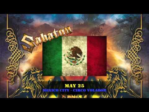 Sabaton - Carolus Rex (SWE version) + Swedish Empire Tour 2012