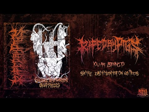 RAPED BY PIGS - SHEMALE DISMEMBERMENT ON 69 PIECES [SINGLE] (2016) SW EXCLUSIVE