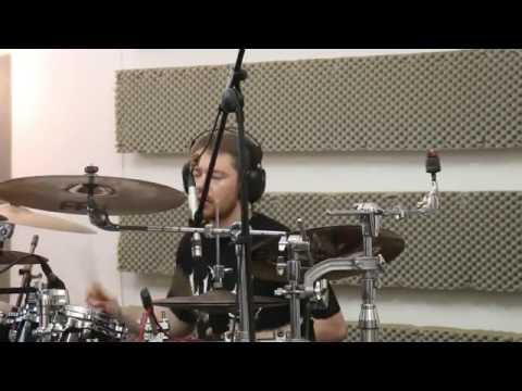 "Lelahell _ ""Alif"" Recording : Part 1 Drums Feat. Hannes Grossmann"