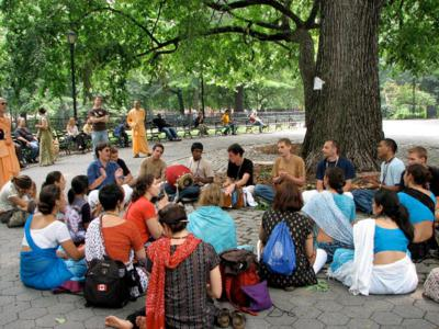 Tomkin Square Park - Hare Krishna Tree