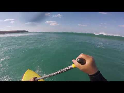 Interesting SUP Surf Day