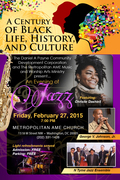 Hurry! It's Today! Still Time To Reserve Free Jazz Concert Tickets to A Century of Black Life, History & Culture - Limited Seating RSVP Now! See Details!