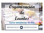 Organización de Eventos. Curso on line.