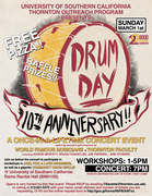 10th Annual USC Drum Day!