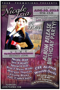 PDub  Promotions and Nicole-Asia Presents The Official Boss Album Release and Birthday Bash