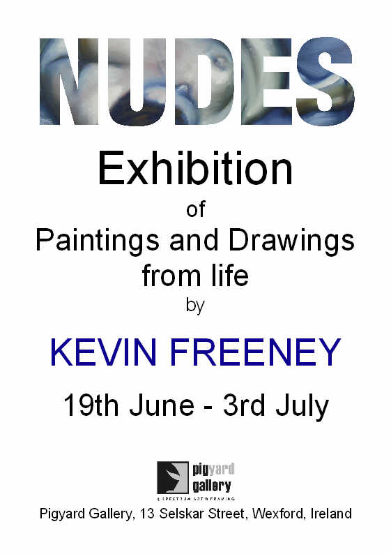 NUDES Exhibition by Kevin Freeney